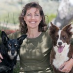 Dr. Cindy DiFranco with dogs